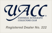 UACC Registered Dealer No.222