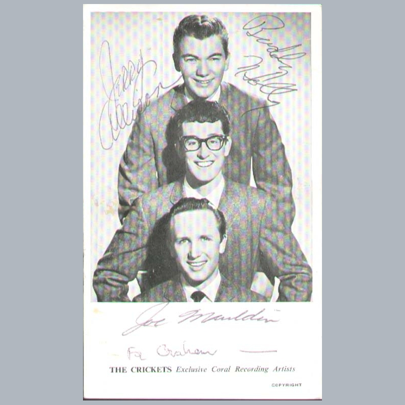 buddy holly essay Watch video biographical story of the rise from nowhere of early rock and roll singer ritchie valens who died at age 17 in a plane crash with buddy holly and the big bopper.
