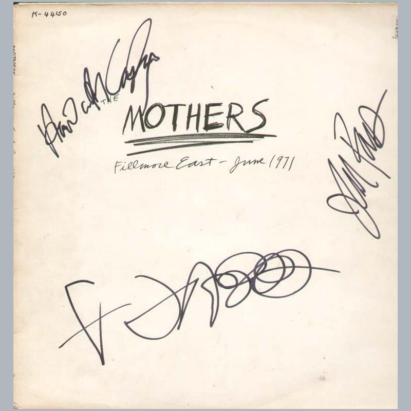 frank zappa memorabilia uk