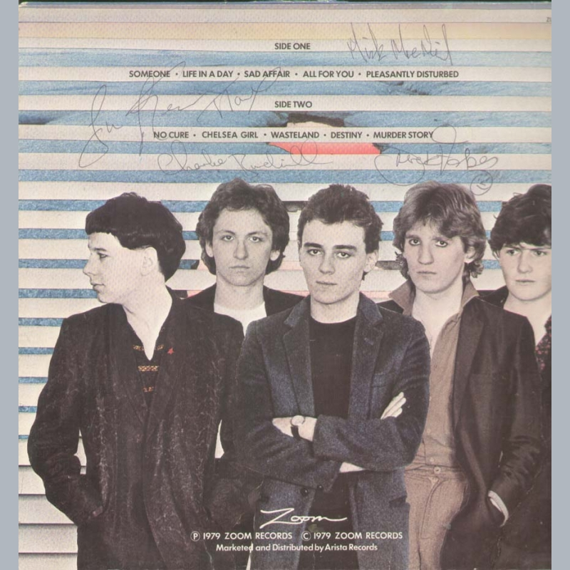 Simple Minds Real Life Signed Autographed A4 Poster Photo Memorabilia ticket cd