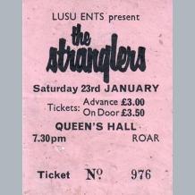 Stranglers Ticket