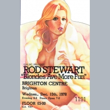 Rod Stewart Ticket