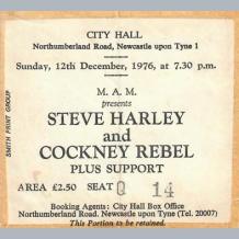 Cockney Rebel Ticket
