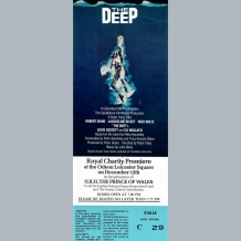 The Deep Film Premiere Ticket