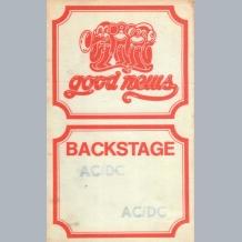 AC/DC Backstage Pass