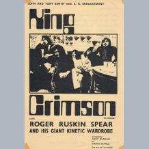 King Crimson Flyer