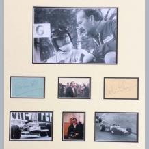 Graham Hill & Colin Chapman