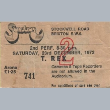 Concert Tickets 1990s A to M