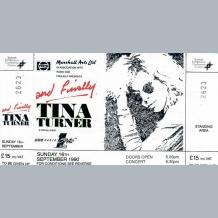 Tina Turner Ticket