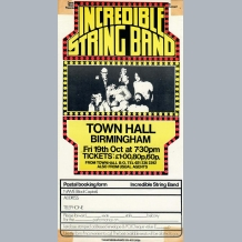 Incredible String Band Booking Form