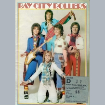 Bay City Rollers (1975) Tour Programmes