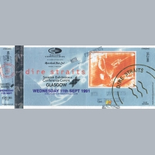 Dire Straits Ticket