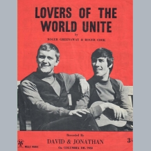 David & Jonathan Sheet Music