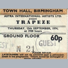 Trapeze Ticket