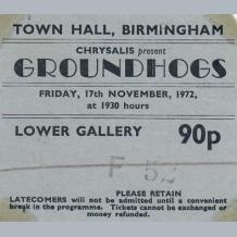 Groundhogs Ticket