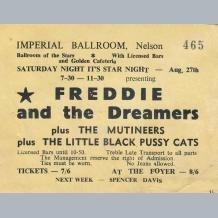 Freddie & The Dreamers Ticket
