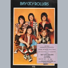 Bay City Rollers (1976) Tour Programme