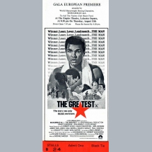 The Greatest Film Premiere Ticket