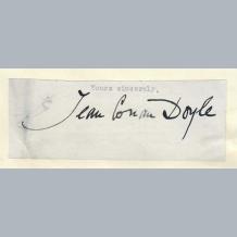 Jean Conan Doyle