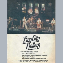 Bay City Rollers (1977) Tour Programme
