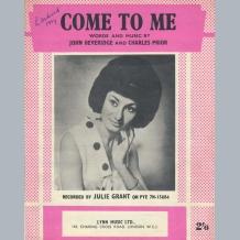 Julie Grant Sheet Music