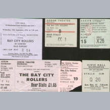 Bay City Rollers Concert Tickets