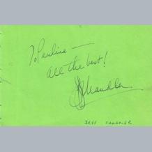 Jeff Chandler & Rex Harrison
