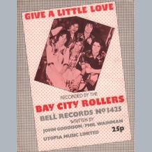 Bay City Rollers Sheet Music