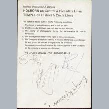 Brian Epstein Memorabilia Uk