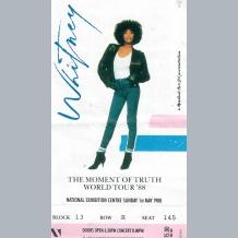 Whitney Houston Ticket
