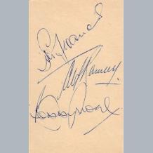 Bobby Moore & Alf Ramsey