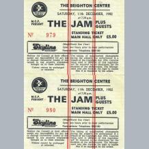 Jam Tickets