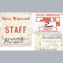 Steve Winwood Staff