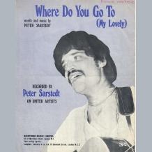 Peter Sarstedt Sheet Music