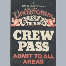 Lindisfarne Stage Pass