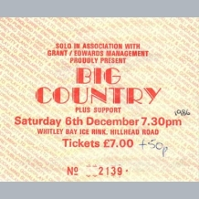 Big Country Ticket