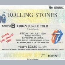 Rolling Stones Ticket