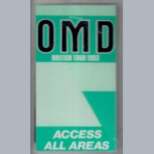 OMD Stage Pass