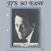 Andy Williams Sheet Music