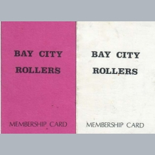Bay City Rollers Membership Cards