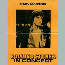 Rolling Stones Show Souvenir