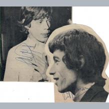Mick Jagger & Bill Wyman