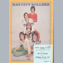 Bay City Rollers (1974) Tour Programmes