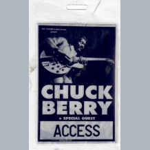 Chuck Berry Stage Pass