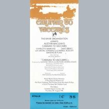 Caravan to Vaccares Film Premiere Ticket