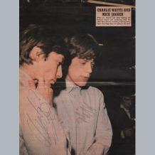 Mick Jagger & Charlie Watts