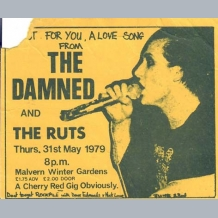 Damned Concert Ticket