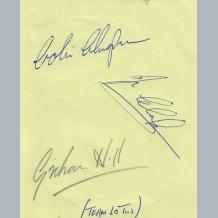 Jim Clark & Colin Chapman Lotus