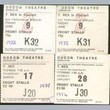 T Rex Concert Tickets