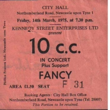 10cc Ticket